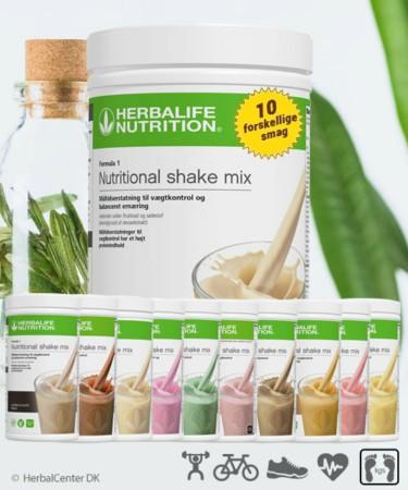 Proteinpulver Shake Formula 1