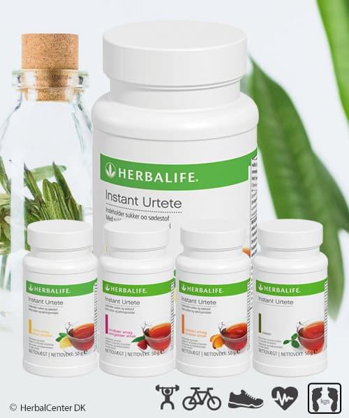 Sportsdrik, energi og herbal urtete