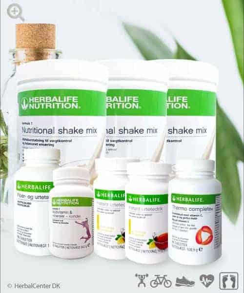 Slank og tab dig med Herbalifes Ultimativ Program