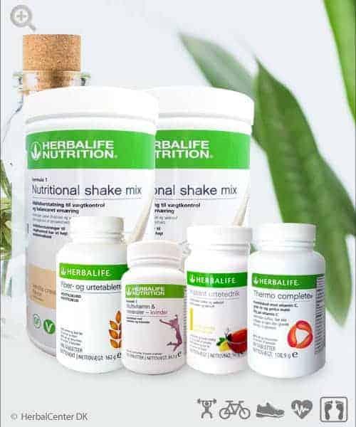 Vores best seller vægttab og wellness program på HerbalCenter
