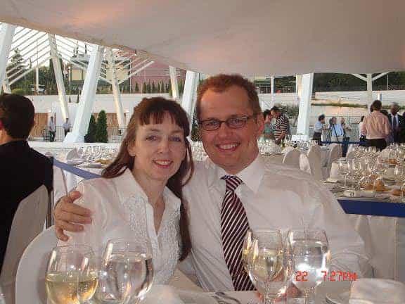 Annemarie og Peter i Grækenland