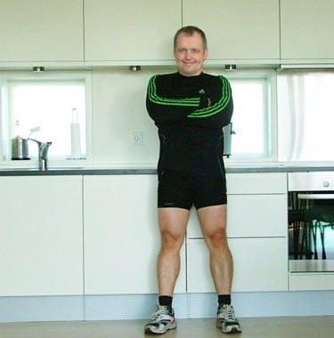 Peter - body building træner, cyklist, runner