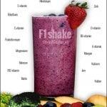 Ernæringsrig sundt måltid i et!