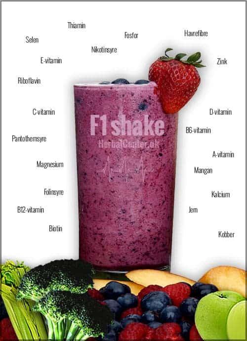Ernæringsrig måltid i en Herbalife Shake!