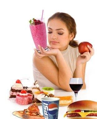 Ernæringsrig shake eller pizza?