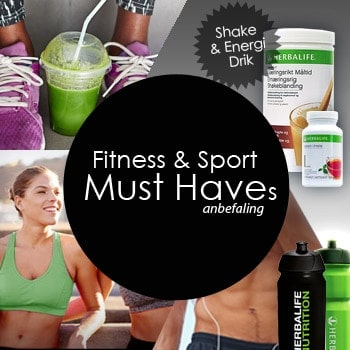 Fitness performance produkter