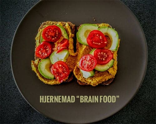 Hjernemad - Brain food