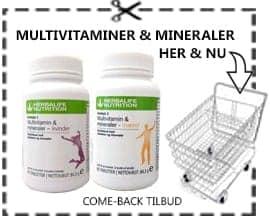 Herbalife multivitaminer immunforsvars booster