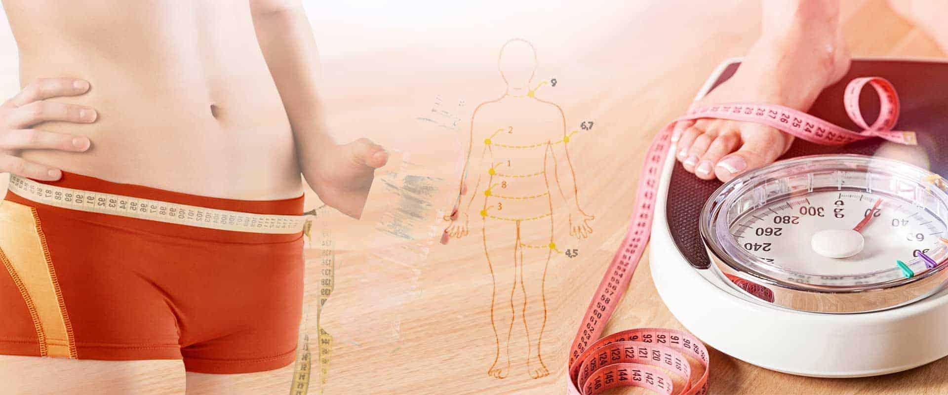 Måleskema til vægttab