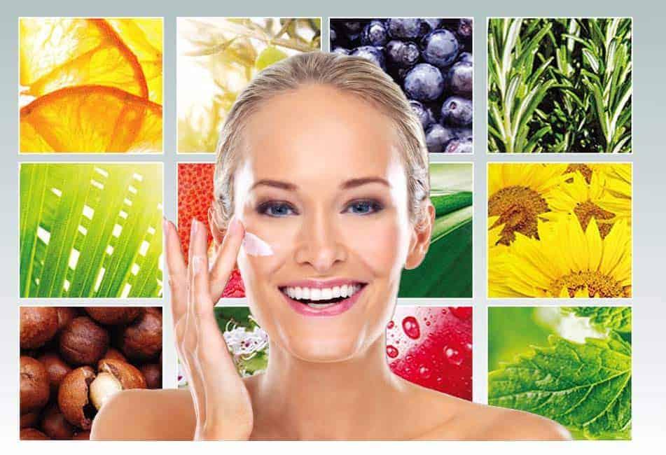 Hudpleje med mere end 15 vitaminer og plantebaserede ingredienser