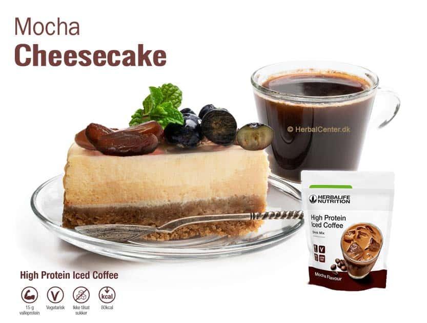 Cheesecake opskrifter med iskaffe høj protein