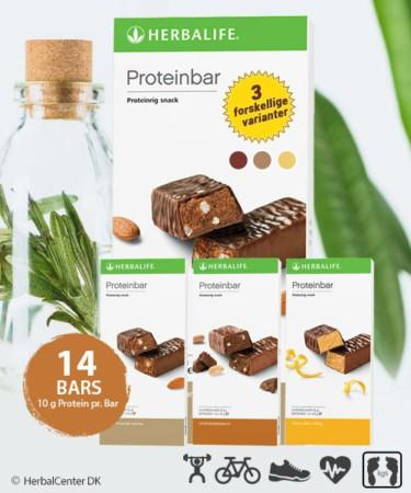 Proteinbar Mellemmåltid (14 stk.)